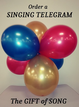 Kansas City Singing Telegrams, 816-454-2419, Paulamarie